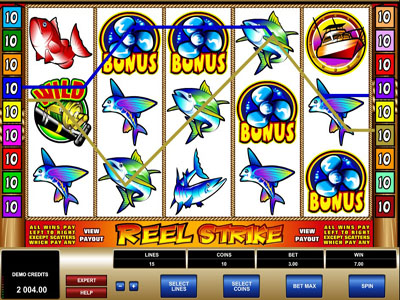 reel strike game